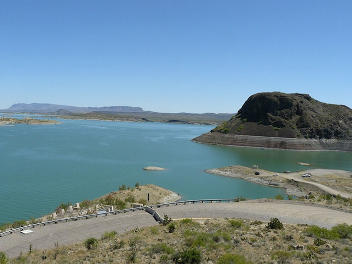 Elephant-Butte-Lake-State-Park-au-Nouveau-Mexique