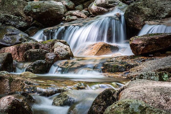 Franconia-Notch-State-Park-dans-le-New-Hampshire