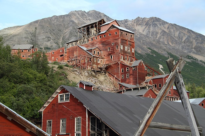 Le-camp-minier-de-Kennecott-en-Alaska
