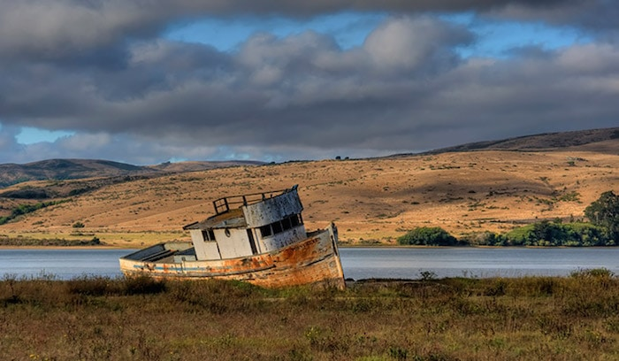 The-Point-Reyes-abandoned-boat