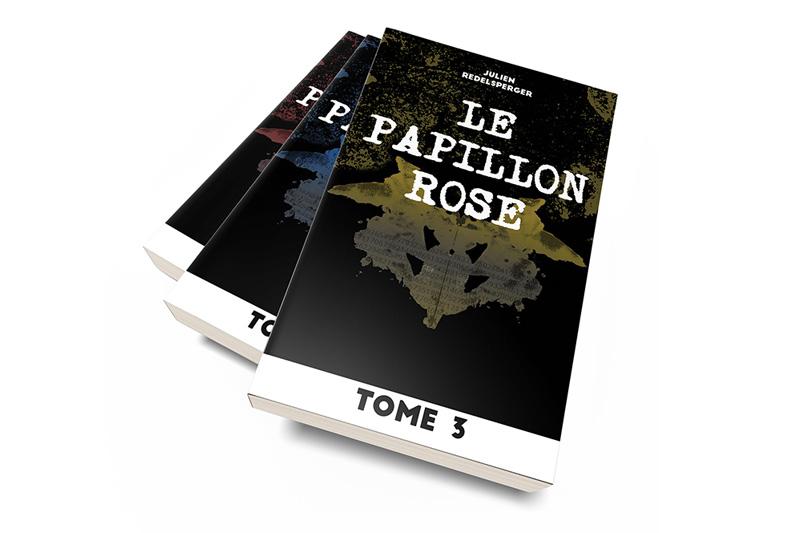 Le Papillon Rose par Julien Redelsperger