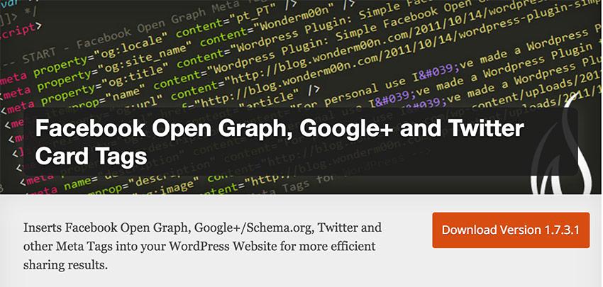 Facebook Open Graph - WordPress : les meilleurs plug-ins pour community managers